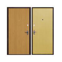 Дверь с отделкой ламинатом LD02